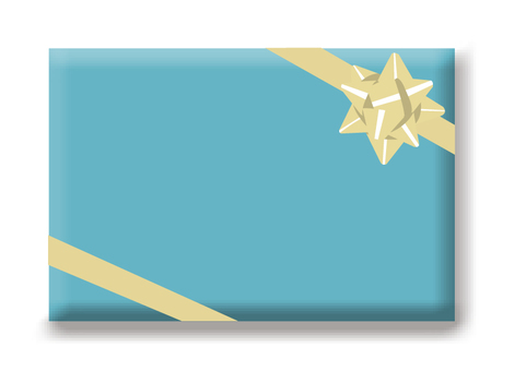 Gift BOX light blue
