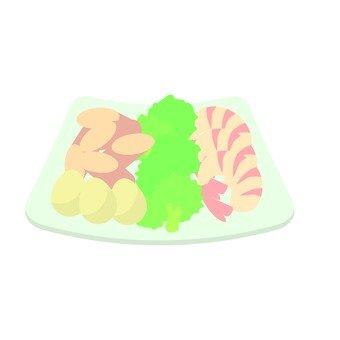A piece for fondue