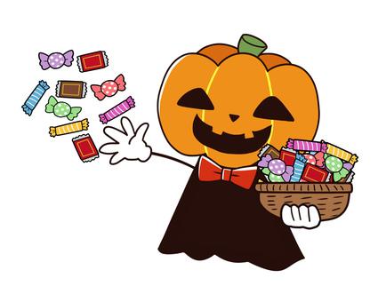 【ハロウィン】お菓子まきイベント