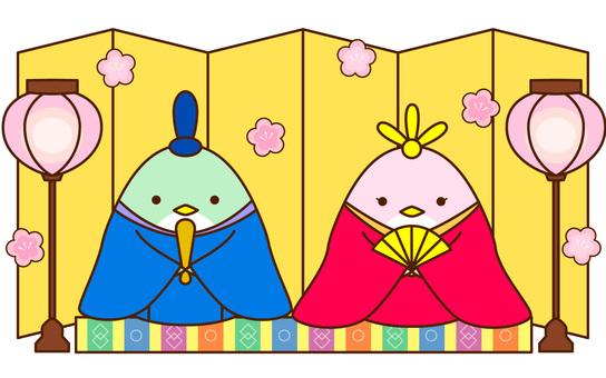 Bird's Hina Festival
