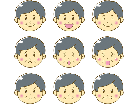 Mature / Male Faces 01