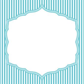 Card (striped light blue)