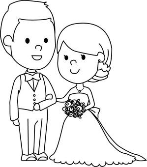 Couple (wedding)
