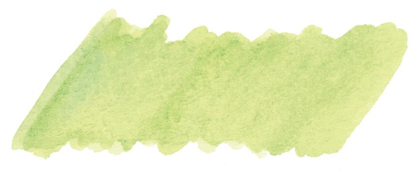 Watercolor frame Wakakusa