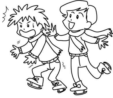 Skate (line drawing)