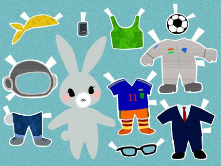 Rabbit's Dress Up Play 3