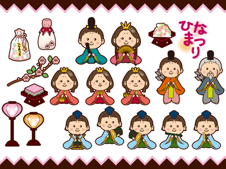 Oda dolls illustration