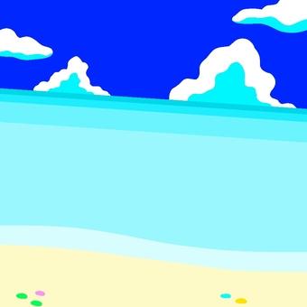 Shallow sea