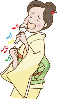 Enka singer