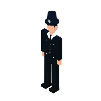 International police officer