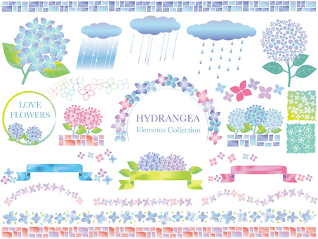 Hydrangea template 1