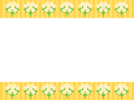 Bouquet frame (yellow)