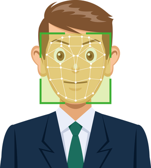 Image of face recognition system