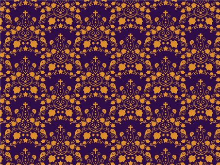 Halloween 5_ pattern orange