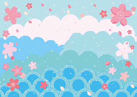 Sakura Fubuki Blue