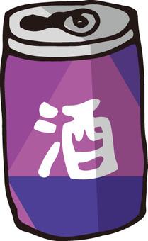 Empty can (liquor 1)
