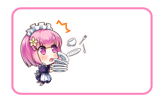 Message card (Maid 3)