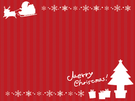 Christmas silhouette background 3