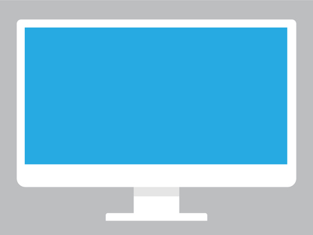 Illustration of display of personal computer