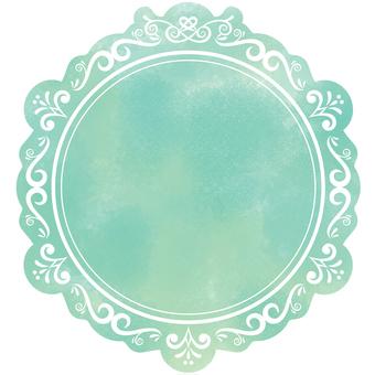 古董框架水彩7