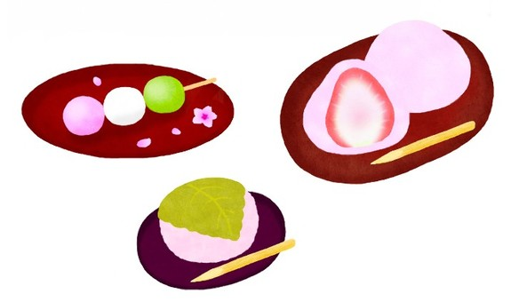 Spring Japanese confectionery