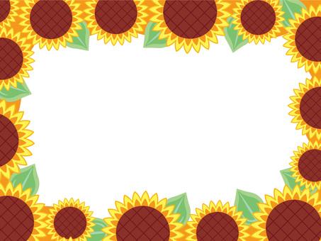 Sunflower frame 02