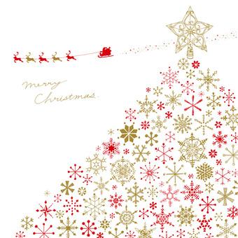 クリスマス 2 レッド&ゴールド