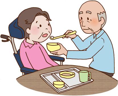 Aged nursing / dietary care / feeding