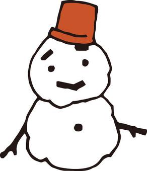 눈사람 (녹아 걸쳐)