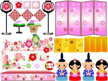 Hina Festival filled material 01