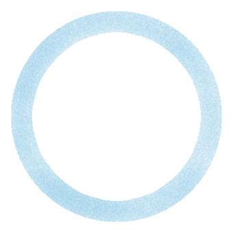 원형 프레임 (파란색)