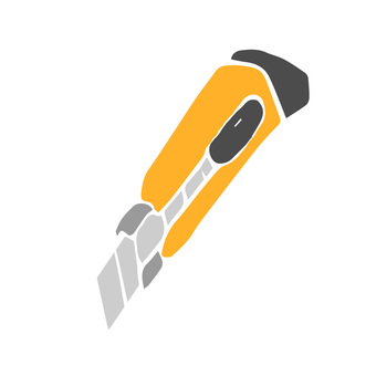 Print style icon tool series cutter