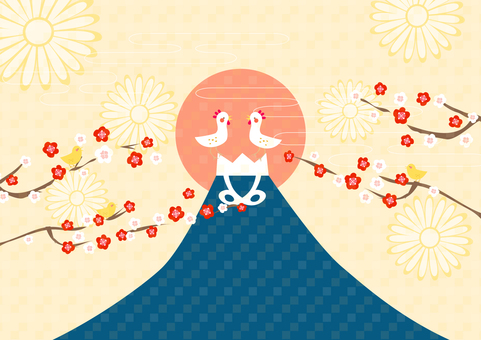 Mt. Fuji of Rooster Year