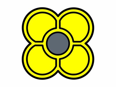 Ojahaki yellow (for each color sense correspondence printing)