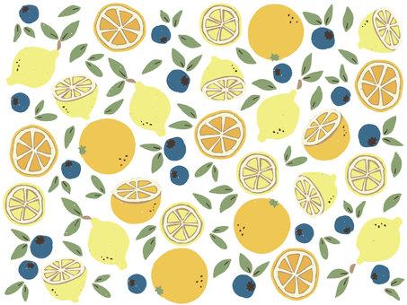 Citrus × Blueberry