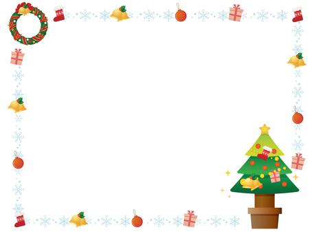 圣诞节装饰框架