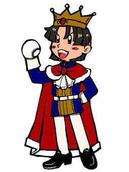 King's illustration color version