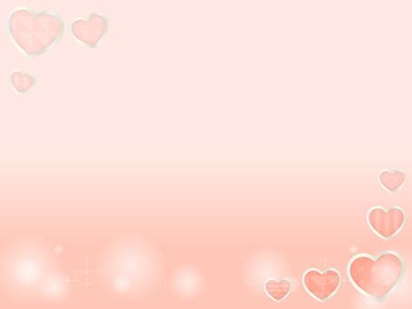 Heart's decorative frame 15