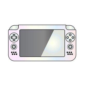 Mobile game machine (white)