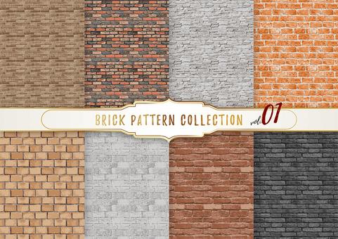 벽돌 패턴 01