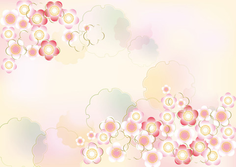 New Year's Pattern Ume 11