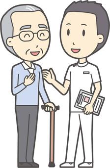 看護師と会話-024-全身