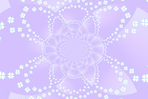 Background material · flower (purple)