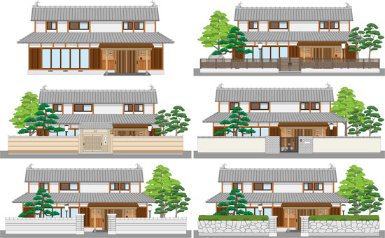 There are 7 summaries of Japanese houses with mochi