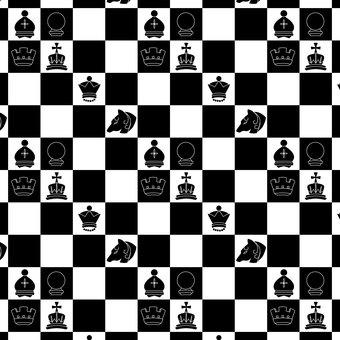 Chessboard pattern [black]