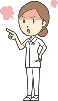 Dumpling nurse white coat-052-whole body
