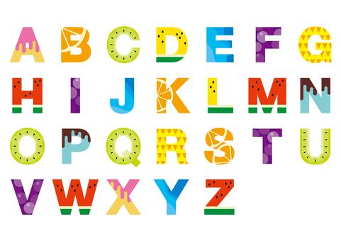 Summer alphabet