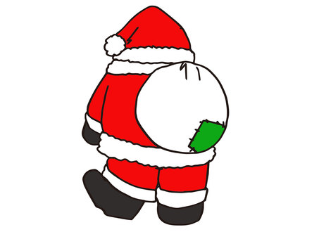 Santa's appearance in the back -2