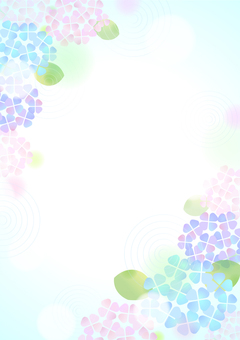 Pastel color hydrangea background 5