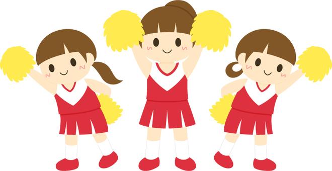 Cheerleading _ 3 people